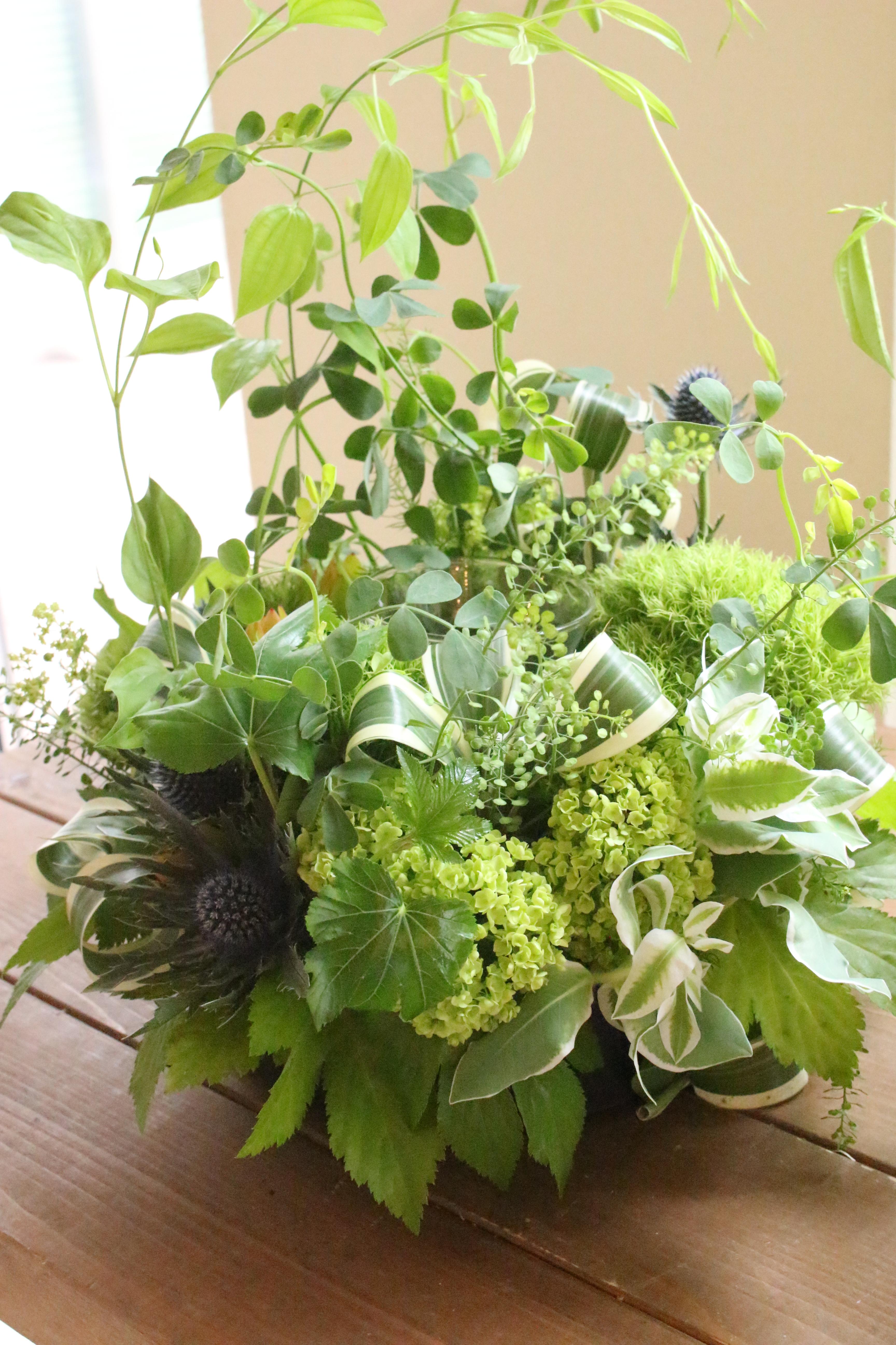 5月のお花教室